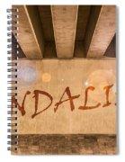 Vandalism Spiral Notebook