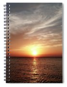 Vanilla Sky Spiral Notebook