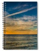 Vapor Trail Spiral Notebook