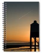 Vapour Trail Spiral Notebook