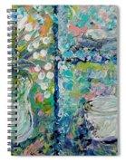 Vase And Demitasse Spiral Notebook