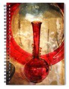 Vase And Tree Spiral Notebook