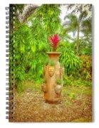 Vase's Faces Spiral Notebook