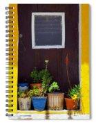 Vases On The Doorway Spiral Notebook