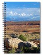 Vast Desert Landscape Spiral Notebook