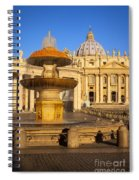 Vatican Morning Spiral Notebook