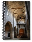 Vaulted Roof St Philibert - Tournus Spiral Notebook