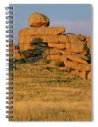 Vedauwoo Rocks Sunset Wyoming Spiral Notebook