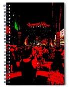 Vegas At Night Spiral Notebook