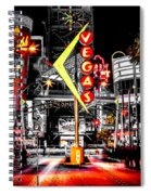 Vegas Nights Spiral Notebook