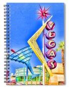 Vegas Street Art Spiral Notebook