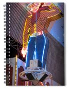 Vegas Vic Spiral Notebook