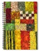 Vegetable Abstract Spiral Notebook