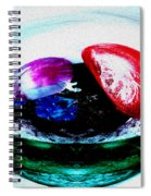 Vegetables And Gemstones Spiral Notebook