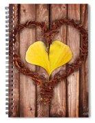 Vegetal Hearts Spiral Notebook