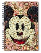Veggie Mickey Mouse Spiral Notebook