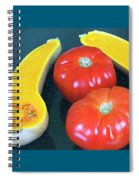 Veggies And Colors Spiral Notebook