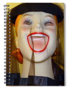 Veiled Laugh Spiral Notebook
