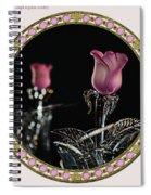 Veiled Love Spiral Notebook