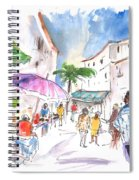 Velez Rubio Market 01 Spiral Notebook