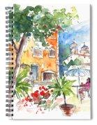 Velez Rubio Townscape 03 Spiral Notebook