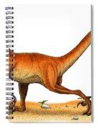 Velociraptor Spiral Notebook