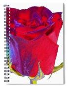 Velvet Rose Bud 2 Spiral Notebook