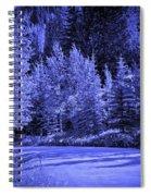 Velvet Winter - Vail - Colorado Spiral Notebook
