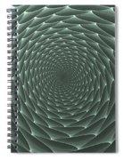 Velveteen Vortex Gray Spiral Notebook