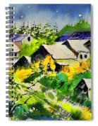 Vencimont Watercolor  Spiral Notebook