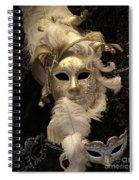Venetian Face Mask B Spiral Notebook