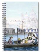 Venetian Gondola, From Vedute Dei Spiral Notebook