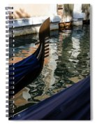Venetian Gondolas Spiral Notebook