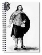 Venetian Man, 18th Century Spiral Notebook