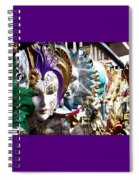 Venetian Masks 1 Spiral Notebook