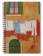Venetian Washday Spiral Notebook