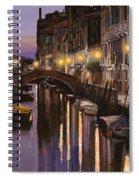 Venezia Al Crepuscolo Spiral Notebook