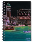Venice At Night Spiral Notebook