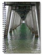 Venice Beach Pier Structure Spiral Notebook