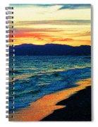 Venice Beach Sunset Spiral Notebook