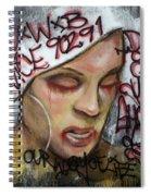 Venice Beach Wall Art 1 Spiral Notebook