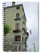 Venice Building Spiral Notebook