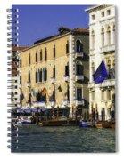 Venice Buildings Spiral Notebook