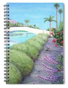 Venice California Canals Spiral Notebook