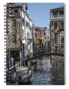 Venice Canal 5 Spiral Notebook