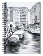 Venice City Of Love Spiral Notebook