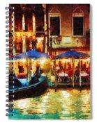 Venice Glow Spiral Notebook