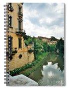 Venice Green Spiral Notebook