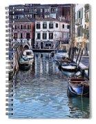 Venice Italy Iv Spiral Notebook