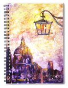 Venice Italy Watercolor Painting On Yupo Synthetic Paper Spiral Notebook